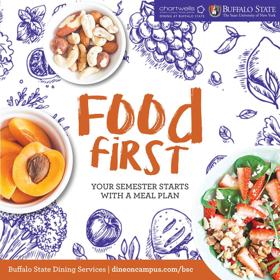Food first your semester starts with a meal plan